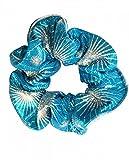 The Zone Zodiac Kingfisher Hair Scrunchie From Active Dancewear
