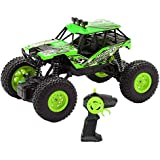 Webby Remote Controlled Rock Crawler Monster Truck (Green)