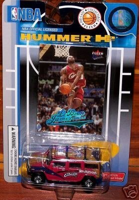 cleveland-cavaliers-2004-05-nba-diecast-fleer-hummer-h2-with-lebron-james-trading-card-by-fleer-coll