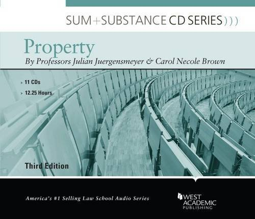 Sum and Substance Audio on Property by Julian Juergensmeyer (2013-12-19)