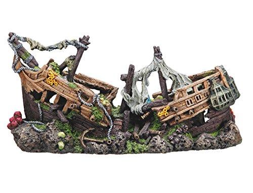 décoration aquarium pirates