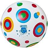 Best Sporting PVC-Ball Toy, 22 cm, Spielball Fußball Beachball, Design:Circle