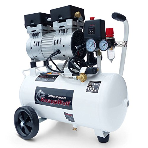 KnappWulf KW1024 Compressore ultrasilenzioso, adatto per aerografo, emissione: 69 dB