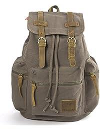 Cartable Sac dos epaule voyage toile homme femme backpack rucksack Bag 4 couleur