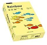 Papyrus 88042297 Druckerpapier Rainbow 80 g/m², A4 500 Blatt hellgelb