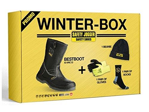 Sicherheit Jogger Bestboot Winterlich Box inkl Rigger Stiefel, Handschuhe, Socken,...