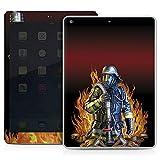 Apple IPad Air Case Skin Sticker aus Vinyl-Folie Aufkleber Feuerwehrmann Feuerwehr Firefighter