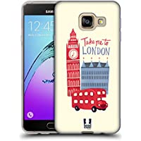 Head Case Designs Voyage Je Rêve Londres Étui Coque en Gel molle pour Samsung Galaxy A3 (2016)