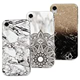 3x Coque pour iPhone XR 6.1 Pouces, Beaulife Etui Silicone IMD Technologie...