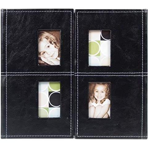 Colorbok Gatefold Album 12X12-Black 47490 by Colorbok
