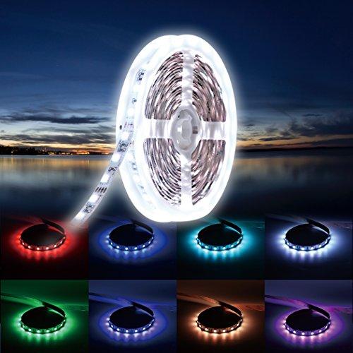 Flexibel Aufklebbar LED Streifen 50cm x 8mm 30 LED`S 12V Rot UK Verkäufer