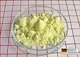 4 kg Schwefel anorganisch Schwefelpulver Schwefelpuder Mahlschwefel Sulphur 99,99% Herkunftsland Deutschland sehr rein Pharmaqualität Säurefrei , sublumiert , vollraffiniert , In wiederverschließbarer Verpackung,