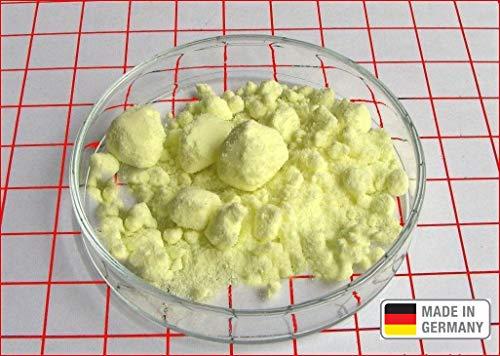 2 kg Schwefel anorganisch Schwefelpulver Schwefelpuder Mahlschwefel Sulphur 99,99% Herkunftsland Deutschland sehr rein Pharmaqualität Säurefrei -