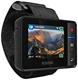 Removu Set R1+ Waterproof Wearable Wi-Fi Live Viewer Fernbedienung für GoPro Hero 3 /3+/4/ 5 und GoPro Session mit Halter