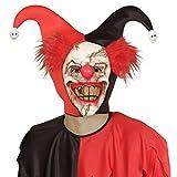 Masque de clown horreur Cagoule clown psychopathe mascarade effrayant d'Halloween déguisement de visage pierrot terrifiant masque d'Halloween effrayant accessoire costume clown horrible