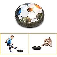 HoverBall Indoor Fußball Spielzeug für Kinder, Svance T0158 Air football Power Soccer Disk mit LED Buntes Licht für Jungen und Mädchen spielen Sport Spiele mit 3-5 Jahren Alt