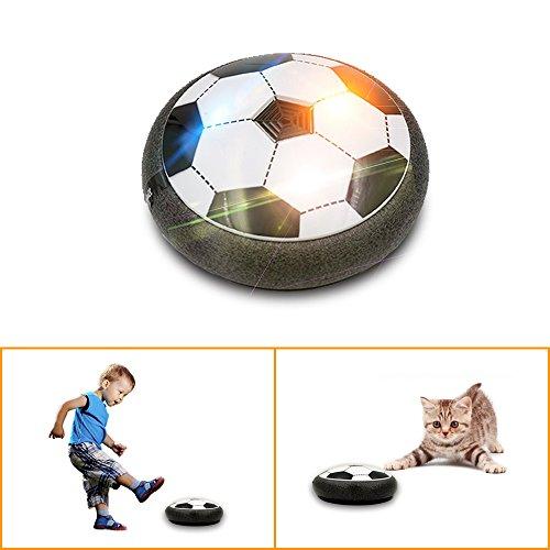 �ball Spielzeug für Kinder, Svance T0158 Air football Power Soccer Disk mit LED Buntes Licht für Jungen und Mädchen spielen Sport Spiele mit 3-5 Jahren Alt (Fußball Spielzeug)