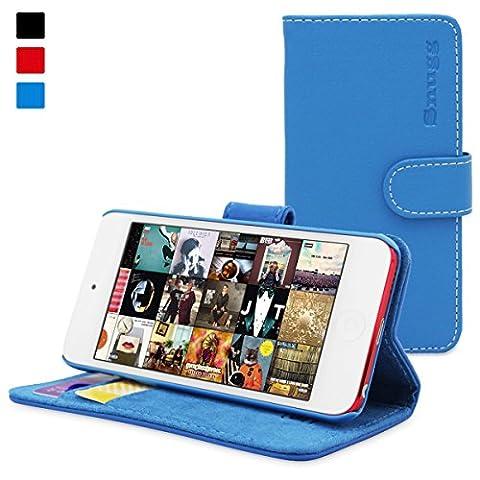 iPod Touch Hülle, Snugg Apple iPod Touch Handyhülle mit Kartenfach und Standfunktion - Blau , Legacy Range