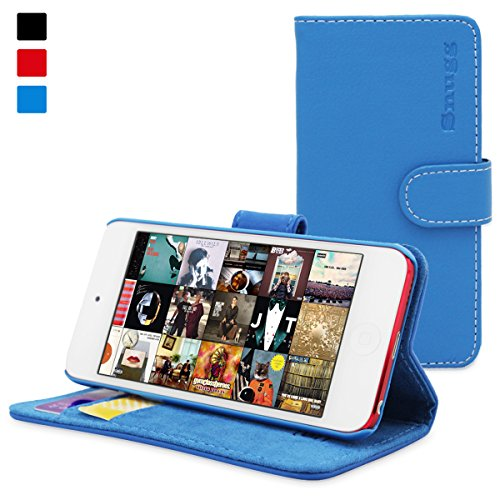 snugg-ipod-touch-6g-5g-flip-case-lifetime-guarantee-blue-leather-for-apple-ipod-touch-5th-6th-genera