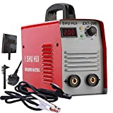 ISHUHUIPortable Welding Inverter Machine,0-3.2mm Electrode Welder Electrode Welding Machine, 220V, 20-200A, Household with Case