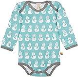 loud + proud Langarm Jungen Baby Body aus Bio Baumwolle, GOTS-Zertifiziert