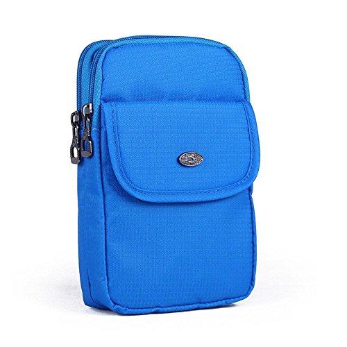 BUSL fanny Wandern Pack 6.8-Zoll-Outdoor-Multifunktions-Handy-Paket Taschen weibliche Reise Schulter Messenger Bag Bewegung a