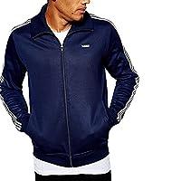 Mens adidas Originals Mens Beckenbauer Track Top in Navy - S