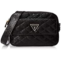 GUESS Women's Cross-Body Handbag, Black - SG747914