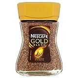 Nescafe Gold Mischung Gefriergetrockneten Instant-Kaffee 50G - Packung mit 2