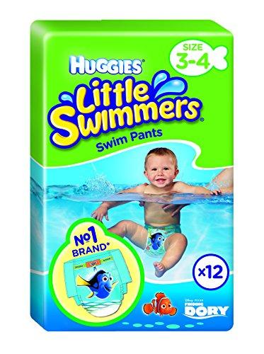 Huggies Little Swimmers Einweg-Schwimmwindeln, Größe 3-4–66Hose Total - 2