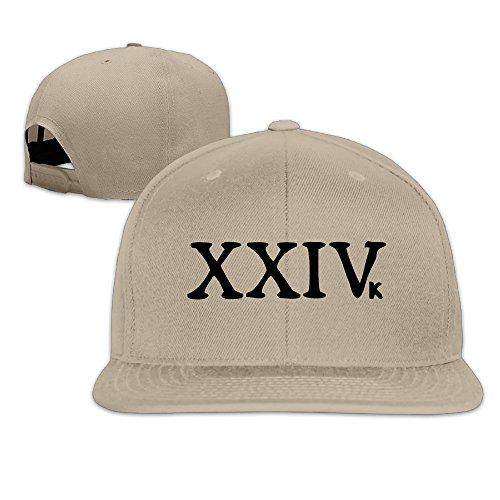 Bruno Mars kitzelt New Single 24K Magic Trucker Hat Cool flat-along Gap, Braun (Bruno Mars Hat)