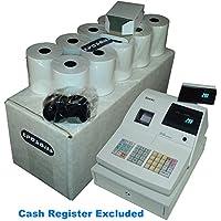 EPOSBITS® Brand 20 Rollos + 1 Tinta para caja registradora Sam4s ER-290 ER290
