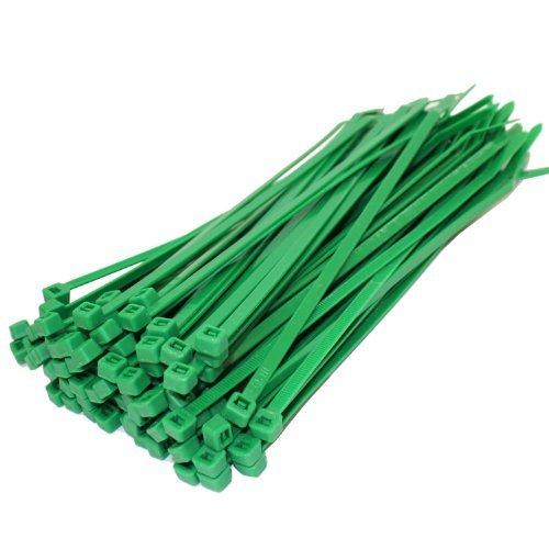 2 GET 1 gratis beim Kauf von 50 x Kabelbinder grün Kabelbinder 200 mm x 4,8 mm Klebesockel für alle Größen
