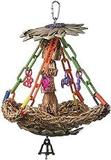 Super Bird Creations SB1091 Tree House Bird Toy, Small/Medium