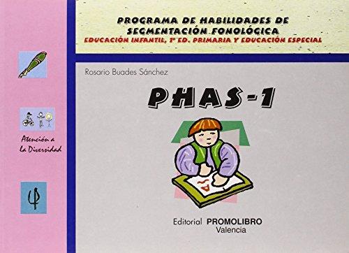 Phas 1 - programa de habilidades de segmentacion fonologica (Atencion A La Diversidad)