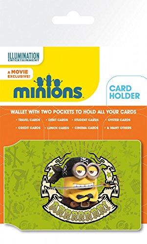 Les Minions Porte-Carte Bancaire pour Fans - Hello Bello (10 x 7 cm)