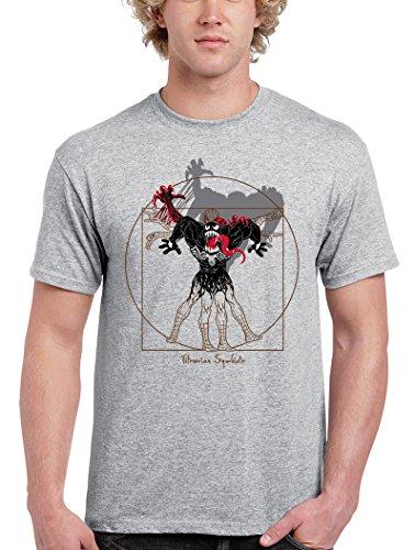 Camisetas La Colmena Herren T-Shirt Grau grau Grau