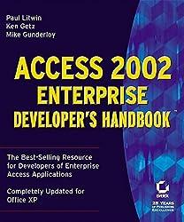 Access 2002: Enterprise Developer's Handbook