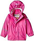 CareTec Kinder Wasserdichte Regenjacke, Rosa (Real pink 546), 140