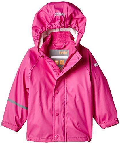 CareTec Chaqueta Impermeable Unisex Niños, rosa Real pink 546, 8 años