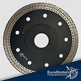 Diamant Trennscheibe Granit SUPERCUT, Fliesenscheibe, Fliesentrennscheibe, extra dünn, 115 mm für...