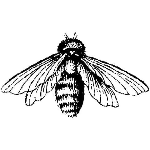 Cling Magenta Francobolli-Bee - Francobolli Magenta Cling