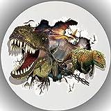 FONDANT Tortenaufleger Tortendeko Geburtstag Dinosaurier T27