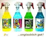 Tuga Profi Auto Putz 4-er Set Alu-Teufel Spezial, Kunststoffteufel,Tugalin Nano und Teufelsreiniger