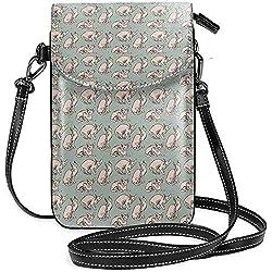 Nette Katzen-haarlose nackte Katzen-Handy-Geldbeutel-Geldbörse für die Frauen, die Reise-kleine Crossbody-Tasche kaufen