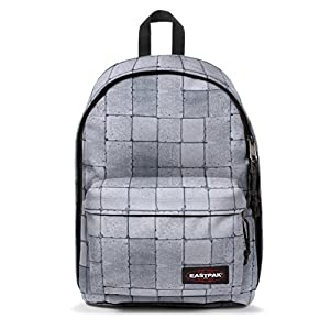 Eastpak Out Of Office Sac à dos, 44 cm, 27 L, Gris (Cracked White)