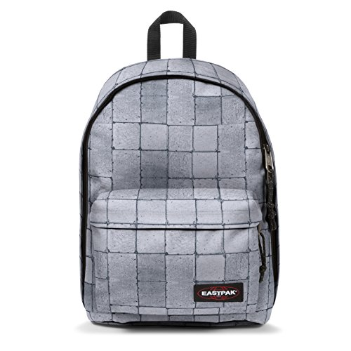 Eastpak Out Of Office Zaino, 44 cm, 27 L, Grigio (Cracked White)