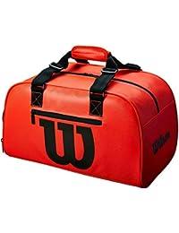 Wilson Duffel Small Infrared Bolsa De Deporte Rojo Neón - Negro