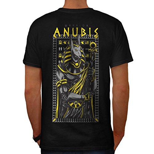 Anubis Alt Gott Mode Herren M T-shirt Zurück | (Weibliche Kostüm Anubis)