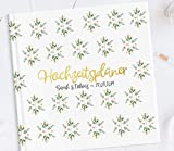 Hochzeitsplaner Hochzeits Organizer - deutsch - Hochzeitscheckliste - BUCH - Wedding planer PERSONALISIERT Sow in Love